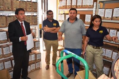 La diligencia fue dirigida por el Fiscal Francisco Ganga de la Unidad de Alta Complejidad.