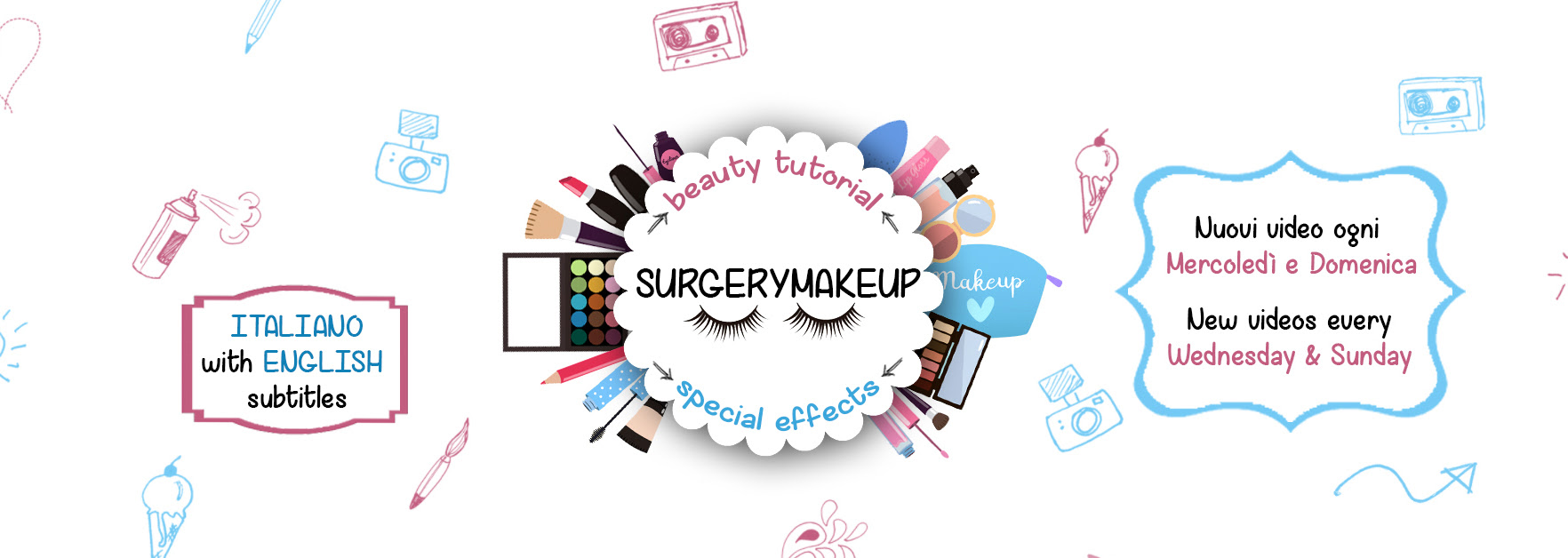 Canale Youtube Surgerymakeup: Beauty tutorial ed effetti speciali