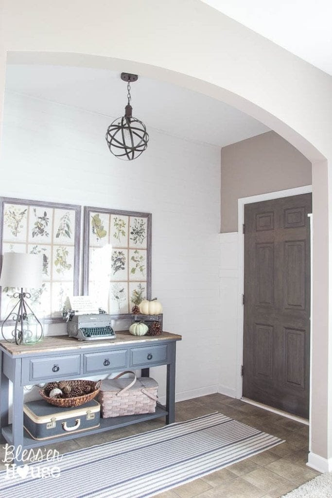 DIY Faux Wood Painted Door   Bless'er House