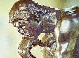 O Pensador', de Auguste Rodin