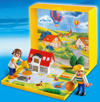 Micro Playmobil Modern House