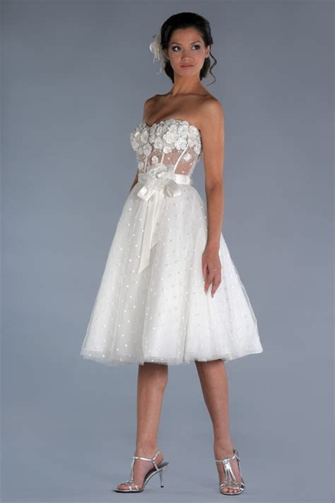 Very short wedding dresses