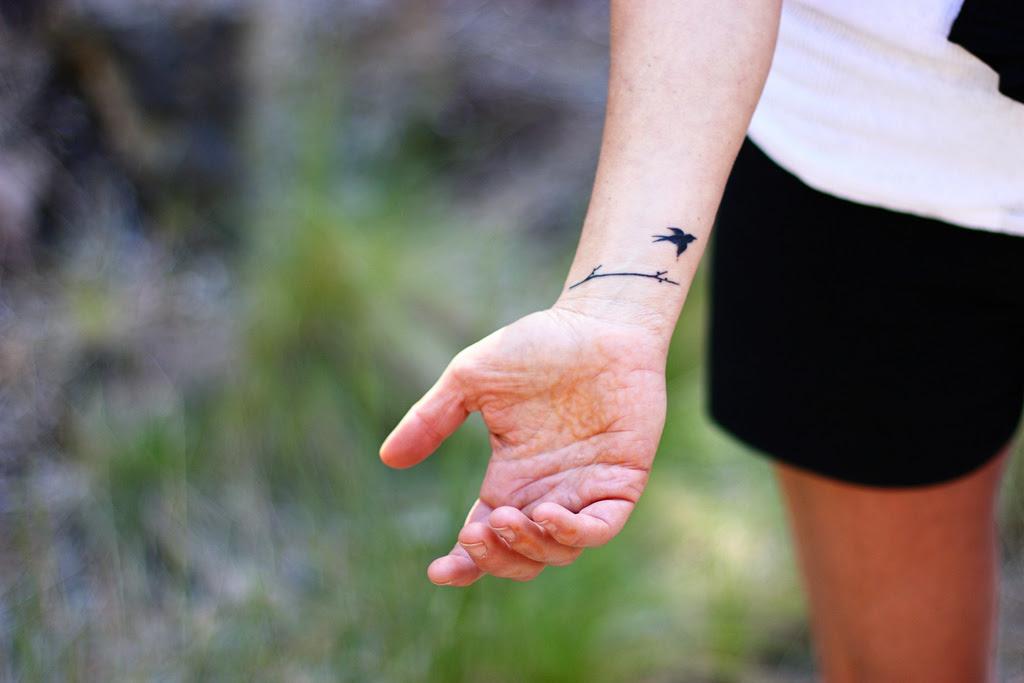 Bird Cage Tattoo Wrist Tattoos Designs Ideas