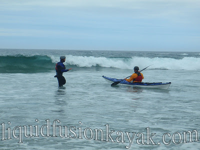 sea kayak instruction Mendocino