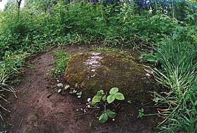 камень,накотором возносил свои молитвы о спасении Отечества преп. Серафим