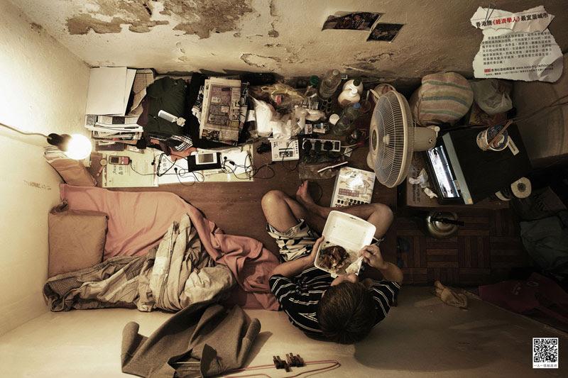 Cramped Hong Kong Apartments from Above