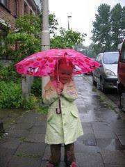BK komt naar A: vluchten voor de stortregen