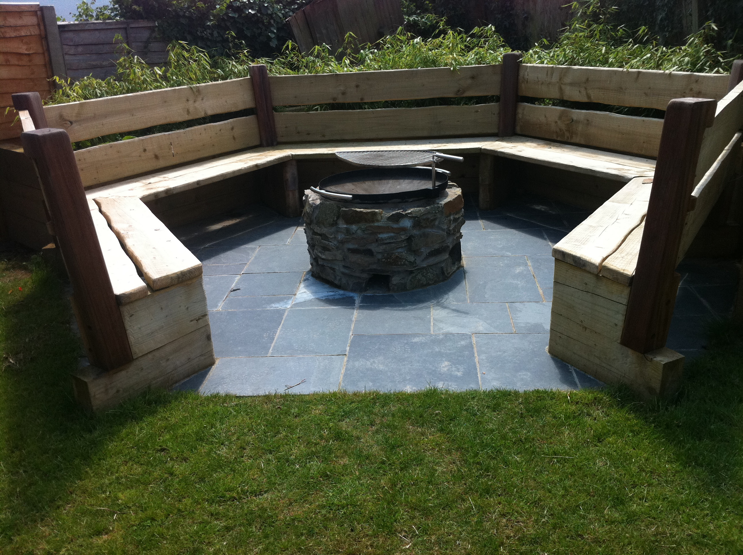 fire pit seating area ideas » Design and Ideas