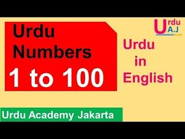 Numbers in Urdu 1-100