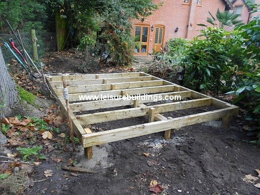 Access Building a shed ramp on uneven ground | shed plan