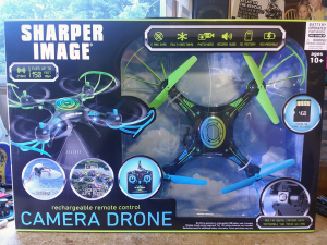 Sharper Image Camera Drone Unboxing Neural Dump