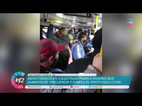 Desde el Concejo buscan que Rosario Bus aumente frecuencias y Protocolo antes el caos en el Colectivo