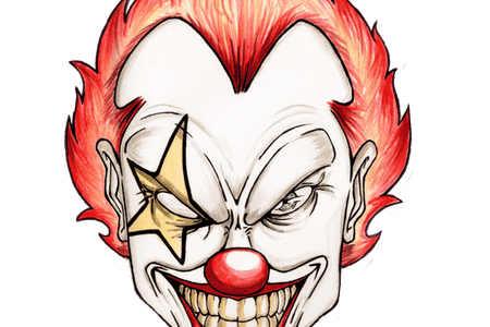 40 Best Collections New Joker Face Drawing Easy