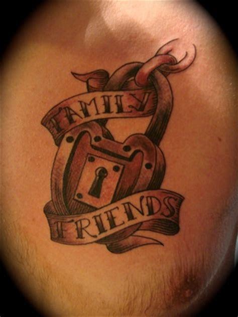 art freek tattoo  lock tattoo
