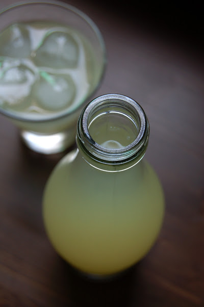 ginger and lemon barley water©