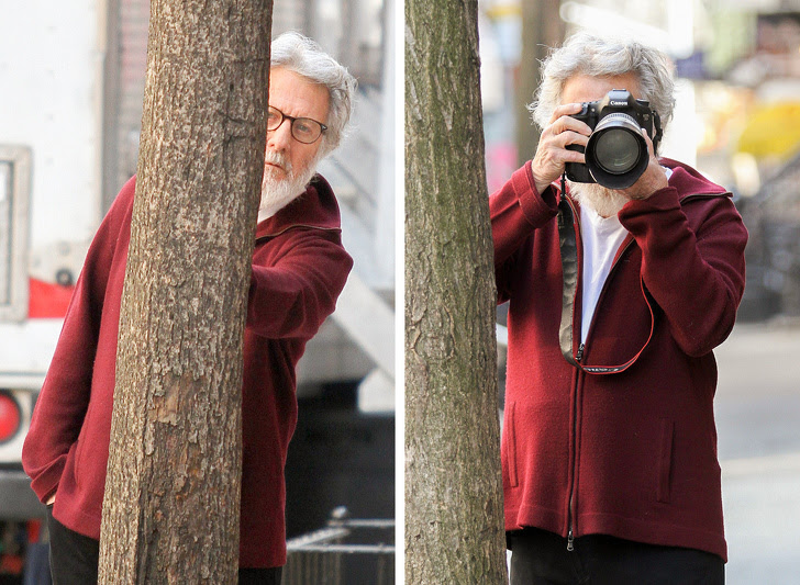 18 - Dustin Hoffman is fed up with hiding and strikes back!