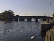Carrick on Shannon Bridge