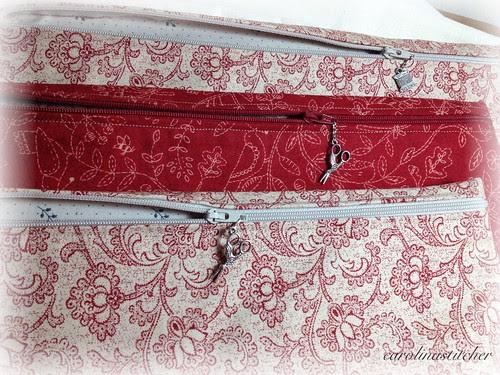Carolina Stitcher project pouches