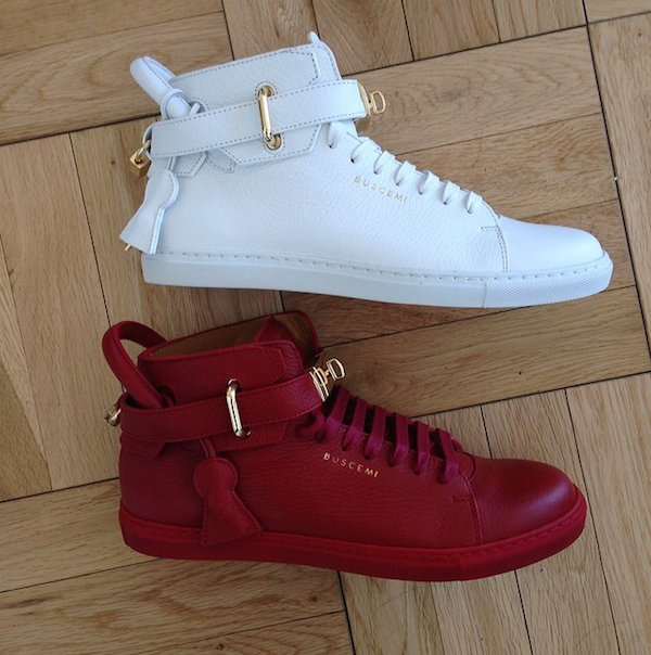 buscemi sneakers fashion bomb daily