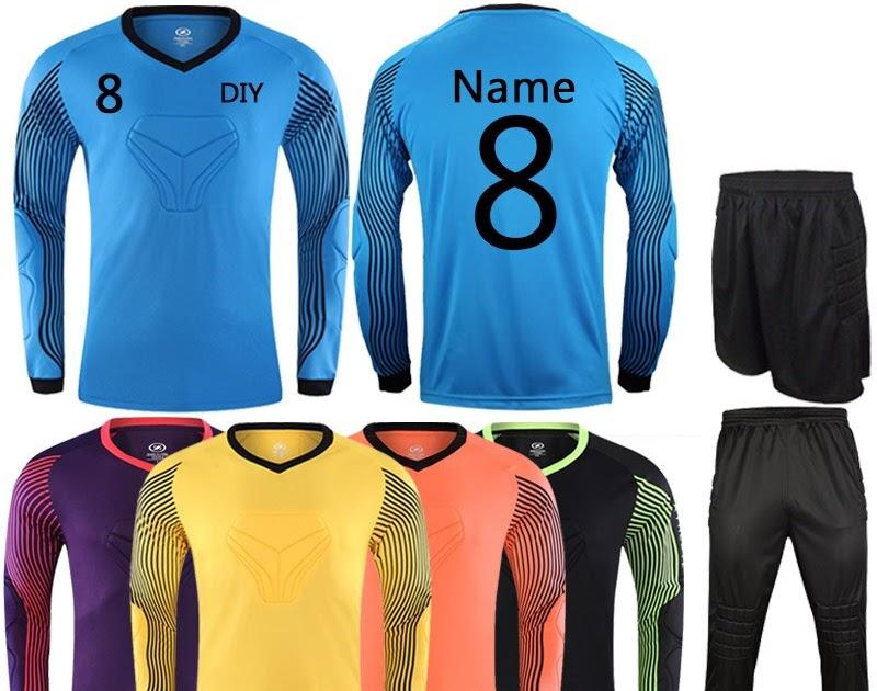 f45d545c57 Comprar Crianças Adulto De Futebol Personalizado Uniformes Goleiro Kit  Jerseys College Sports Treino DIY Trem Roupas Terno Baratas Online Preço