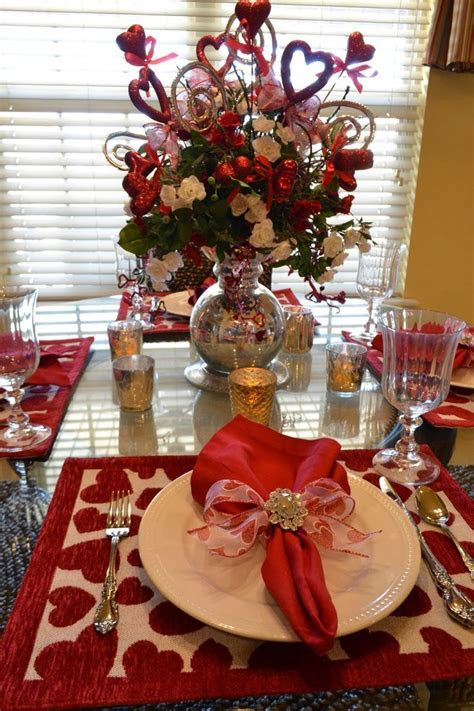 282 best Valentine Tablescapes ? images on Pinterest