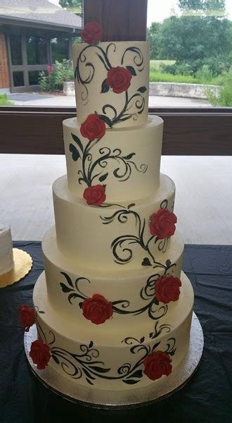 W.O.W Cakes   Wichita, KS Wedding Cake