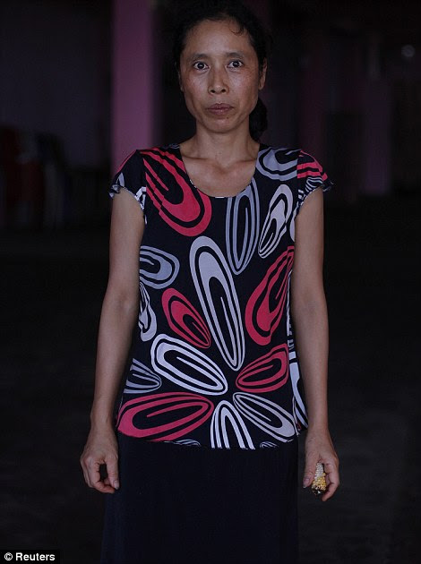 Muanpuii, 38 anos, a 16ª esposa de Ziona