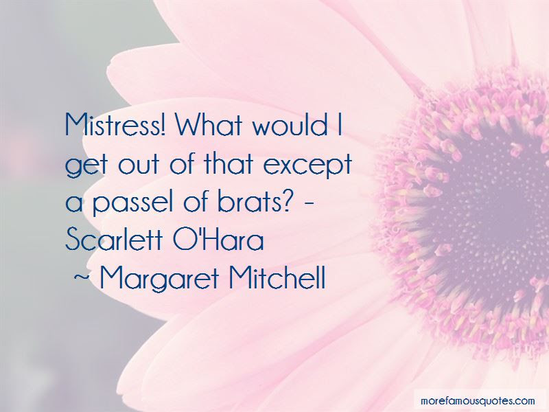 Quotes About Scarlett Ohara Top 27 Scarlett Ohara Quotes From