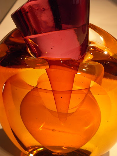 Harvey K. Littelton's A Ruby Conical Intersection with Amber Sphere