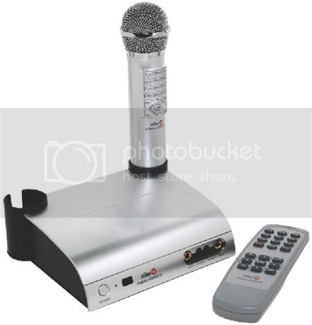 Ziller RealSound Portable Videoke (CHORUS EDITION)Graphic