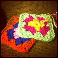 They should be called therapy squares. #grannysquares #crochet