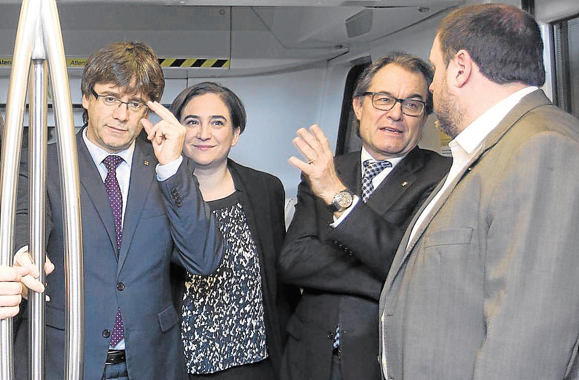 Resultado de imagen de Puigdemont, Junqueras y artur mas