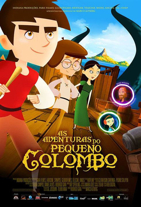 As Aventuras do Pequeno Colombo : Poster