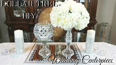 DIY DOLLAR TREE WEDDING CENTERPIECE ? DIY DOLLAR STORE