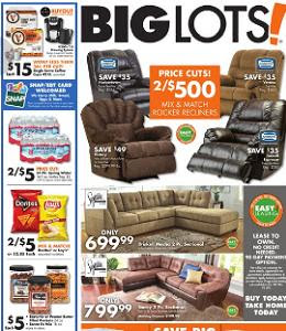 Big Lots Weekly Ad 0926 10032015 Simmons Harbortown Rocker