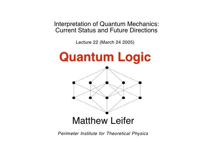 Quantum Logic Spectroscopy Quantum Computing