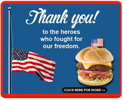 Shoneys memDAY 2013 FREE All American Burger at Shoneys for Military Members on 05/27