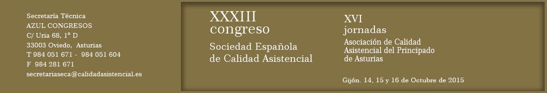 XXXIII Congreso SECA / XVI Jornadas PASQAL