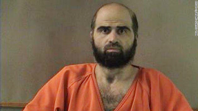 Maj. Nidal Hasan has made a statement in court for the first time ever.