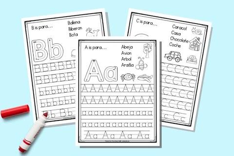 11+ Spanish Alphabet Worksheet Printable