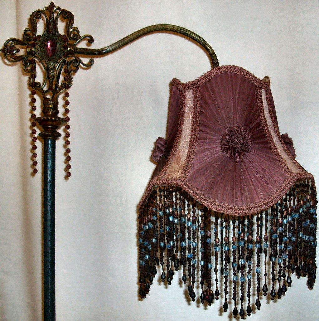Unique Floor Lamps Beaded Fringe Cosmos Table Lamp