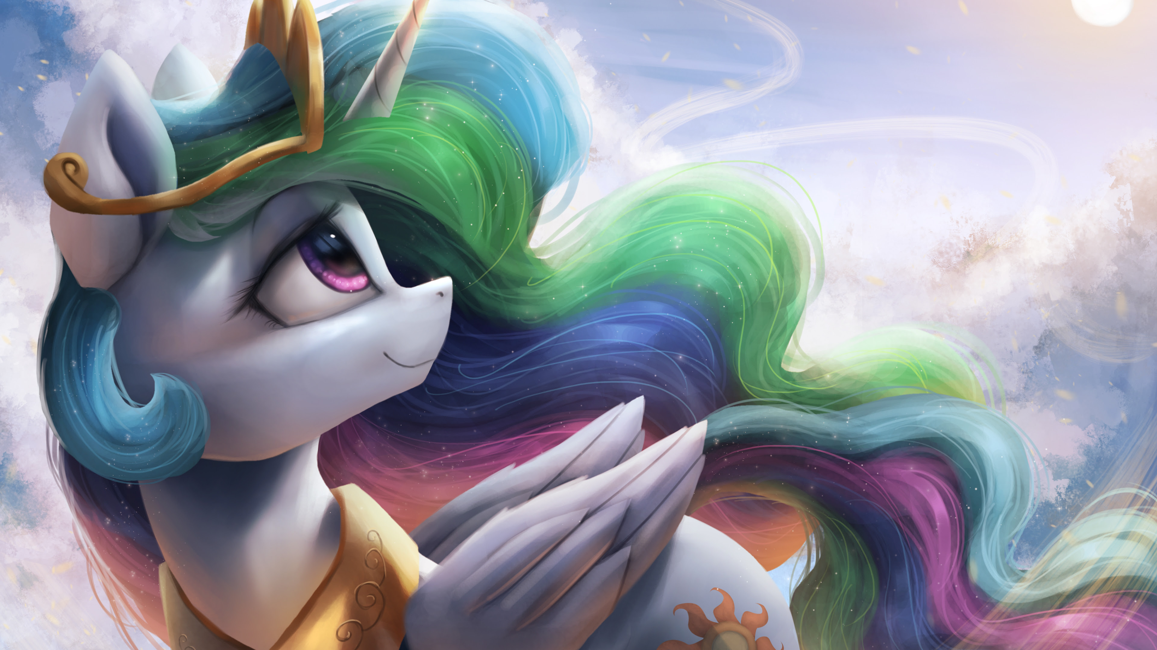 My Little Pony Princess Celestia 4k Wallpapers Hd Wallpapers