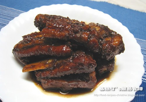 糖醋排骨 Sweet & Sour Spareribs