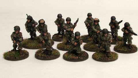 US Airborne Rifle Squad