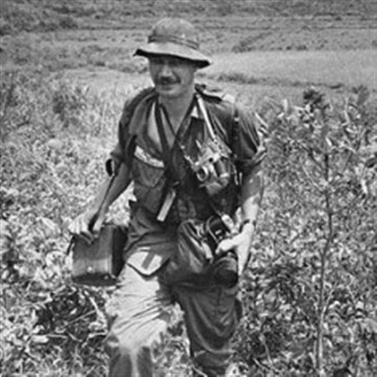 Eddie Adams covers action in South Vietnam Eddie Adams covers action in South Vietnam in 1965 for The Associated Press.