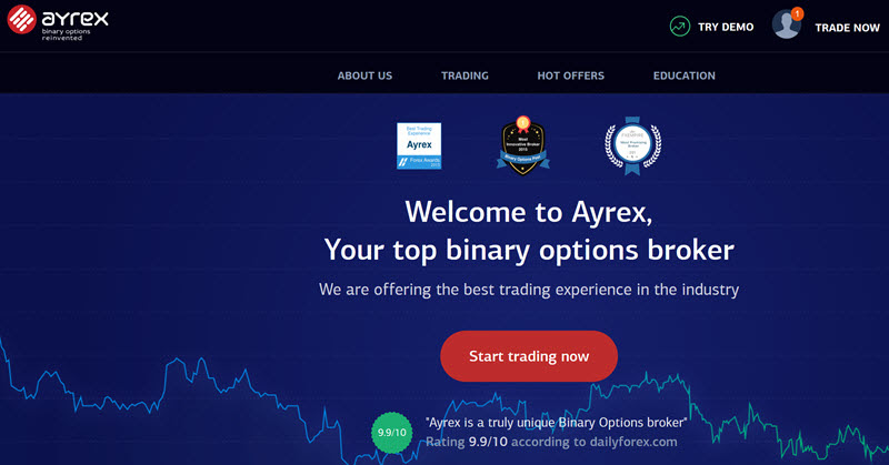 binary options illegal in us