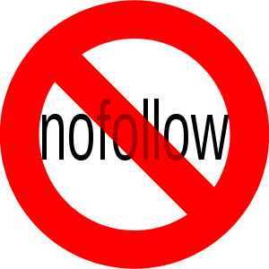 English: No nofollow