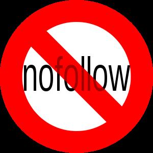 English: No nofollow