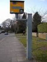 Speed camera: Must stay at least 100 yards away from