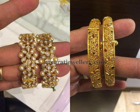 1000  images about Gold bangles on Pinterest   Jewellery
